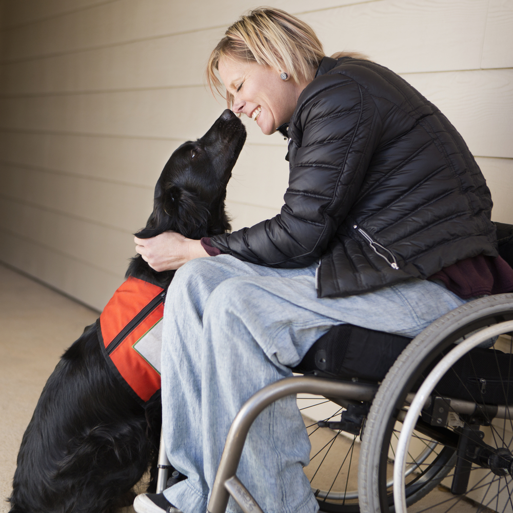 service dog for person with ADHD